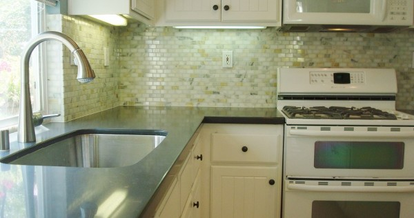 Gray Backsplash SM