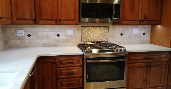 Stone Backsplash SM